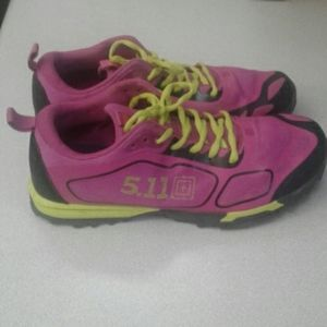 Shoes - Women's 5.11 Fuchsia  Athletic  Running Shoes 8.5